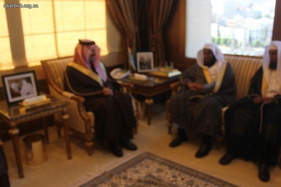 لقاء أمير عسير  فيصل بن خالد60