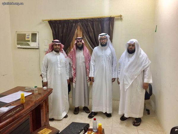 زيارة رئيس قسم المنح بفرع مؤسسة سليمان بن عبدالعزيز الراجحي الخيرية بمنطقة عسير