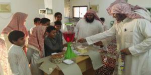 حفل استقبال لـ طلاب حلقة ابن عباس رضي الله عنه بمسجد الملامعة