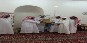 الطالب محمد جابر محمد الهلالي يتم حفظ كتاب الله تعالى
