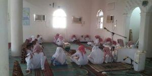 طلاب حلقة حمزة بن عبدالمطلب بقرية بني ذيب