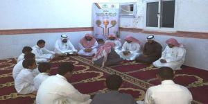 الطالب عبدالله محمد علي الشافطي يتم حفظ كتاب الله تعالى