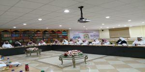 المشاركة في إجتماع مجلس إدارة الجمعية الخيرية لتحفيظ القرآن الكريم في منطقة عسير