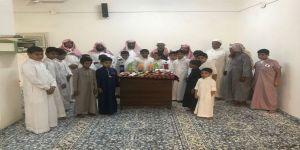 حفل استقبال طلاب حلقة عبدالله بن عباس بقطاع عمق