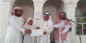 تكريم الطلاب المتميزين في حلقة حمزة بن عبد المطلب