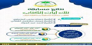نتائج مسابقة تلك آيات الكتاب لطلاب الجمعية الخيرية لتحفيظ القرآن الكريم بالبرك