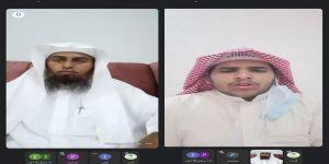 الطالب سلطان محمد ابراهيم الصبيحي يتم حفظ القرآن الكريم