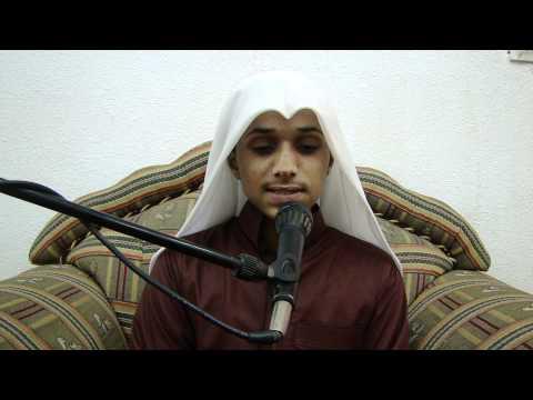تلاوة الطالب أحمد عواجي الحارثي [HD]